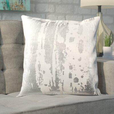 Jones Street Metallic Splatter Throw Pillow