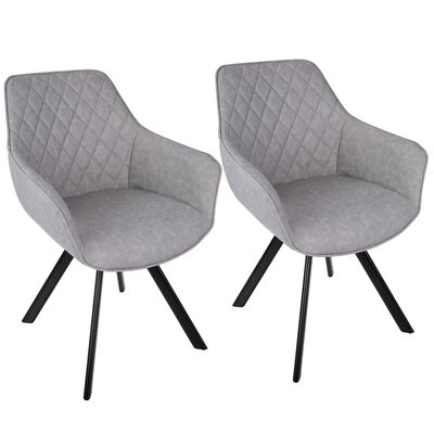 Bender Arm Chair Upholstery: Gray