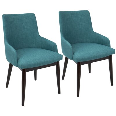 Vinton Arm Chair Upholstery: Teal