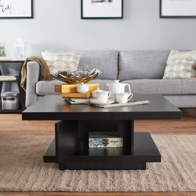 Laroche Square Coffee Table Finish: Black