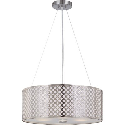 Hoang 3-Light Drum Pendant
