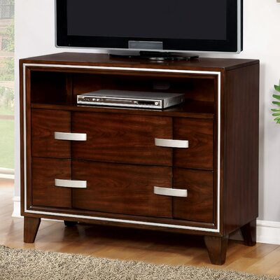 Lumley Contemporary 2 Drawer Media Chest