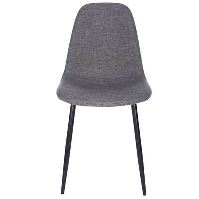 Lundell Side Chair Upholstery: Dark Gray