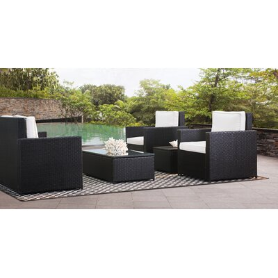 Deines 7 Piece Deep Seating Group with Cushion