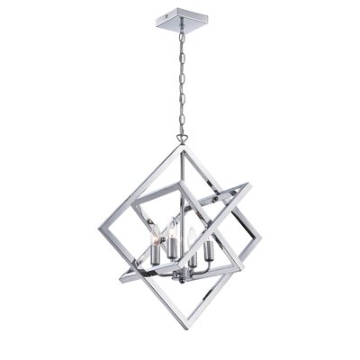 Rosson 4-Light Foyer Pendant