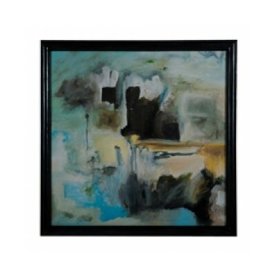 'Abstract I' Framed Painting Print on Canvas