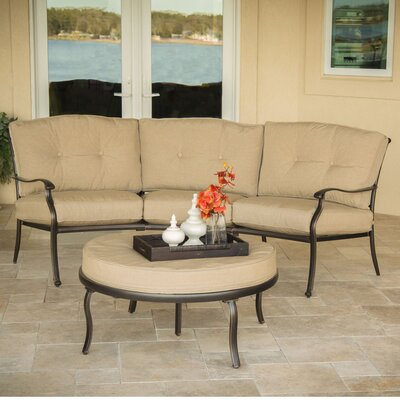 Barryton 2 Piece Sofa Set with Cushion