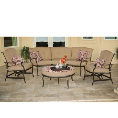 Barryton 4 Piece Deep Seating Group