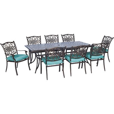 Barryton 9 Piece Dining Set