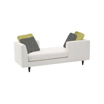 Corvi Double End Chaise Lounge Upholstery: Keira Truffle