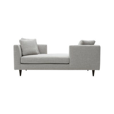 Corvi Double End Chaise Lounge Upholstery: Keira Courtyard