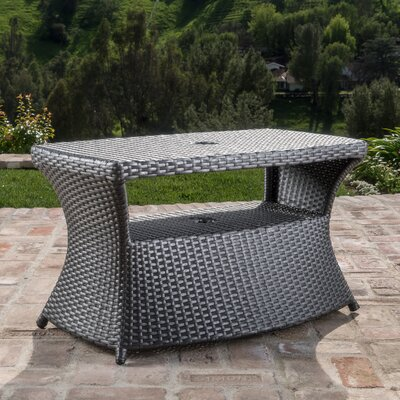 Wicker Dining Table 8049