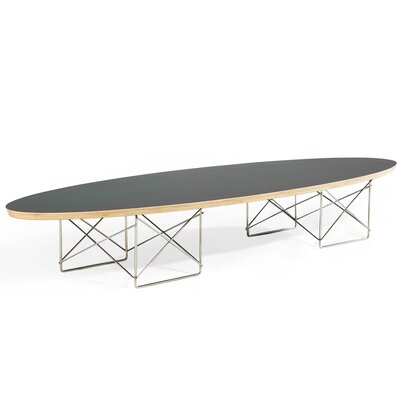 Calfee Coffee Table Top Finish: Black