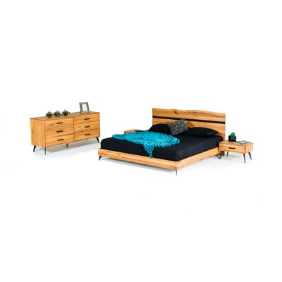 Aaden Customizable Bedroom Set Size: Queen