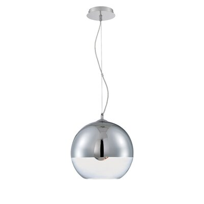 Vinson 1-Light Globe Pendant
