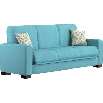 Swiger Convertible Sleeper Sofa Upholstery Color: Blue / Circle