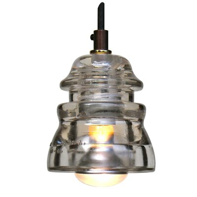 Swint Insulator Light 120V 40W, dimming Finish: Clear
