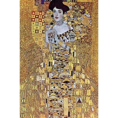 'Portrait of Block-Bauer' by Gustav Klimt Painting Print Size: 36