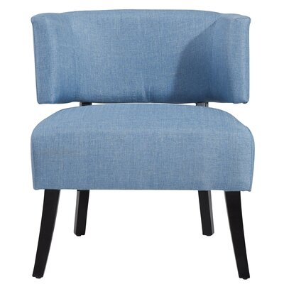 Sylvester Barrel Chair Upholstery : Light Blue