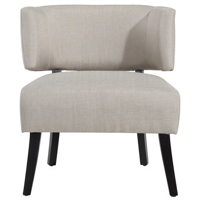 Sylvester Barrel Chair Upholstery : Dark Beige