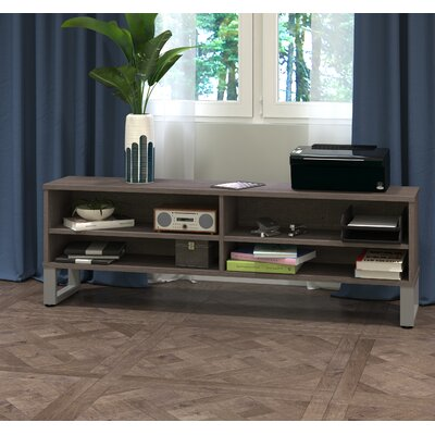 Carreno TV Stand Finish: Dark Gray