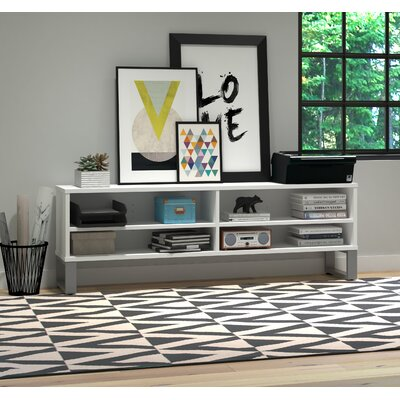 Carreno TV Stand Finish: White