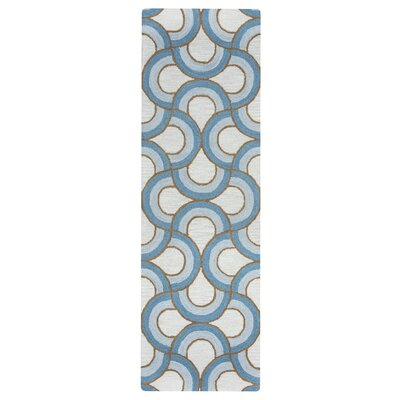 Visser Hand-Tufted Natural Rug Rug Size: Runner 26 x 8