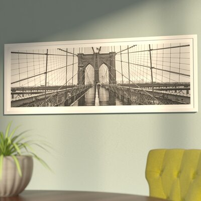 Brooklyn Bridge Framed Photographic Print