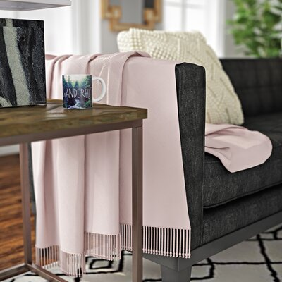 Edison Park Throw Color: Blush