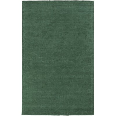 Mcnulty Teal Solid Area Rug Rug Size: Rectangle 9 x 13