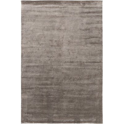 Gilkey Charcoal/Light Gray Area Rug Rug Size: 8 x 11
