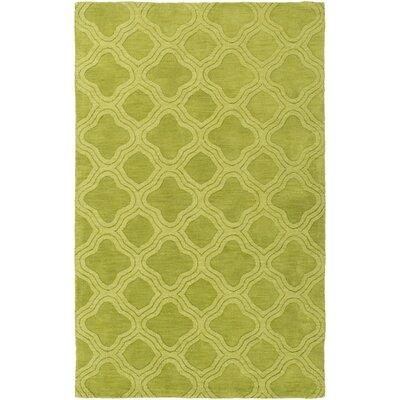 Mcnulty Hand-Loomed Forest Area Rug Rug Size: Rectangle 5 x 8