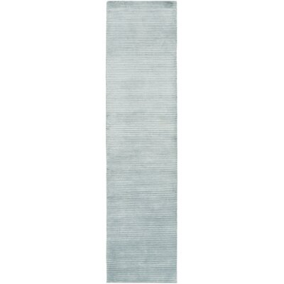 Gilkey Teal Area Rug Rug Size: Runner 26 x 10