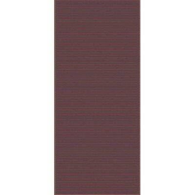 Gilkey Burgundy Area Rug Rug Size: Runner 26 x 10