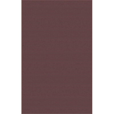 Gilkey Burgundy Area Rug Rug Size: Rectangle 8 x 11