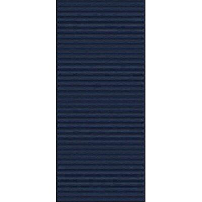 Gilkey Navy Area Rug Rug Size: Runner 2'6