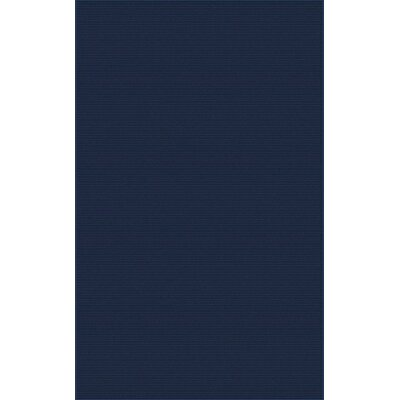 Gilkey Navy Area Rug Rug Size: Rectangle 9 x 13
