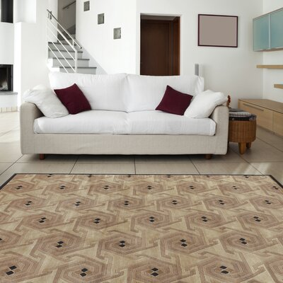 Gilkey Beige/Taupe Area Rug Rug Size: 8 x 11