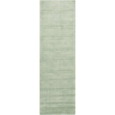 Cerny Sea Foam Area Rug Rug Size: Runner 26 x 8