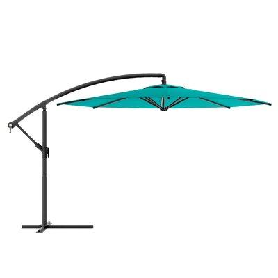Freda 10 Cantilever Umbrella Fabric: Turquoise Blue