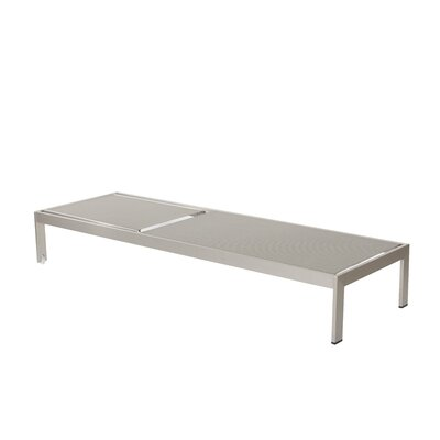 Belterra Chaise Lounge Fabric: Gray