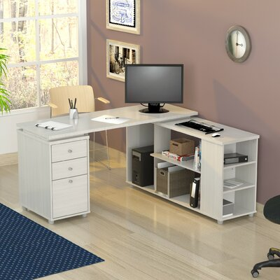 Brayden Studio Conwell Desk L-Shape Computer Desk