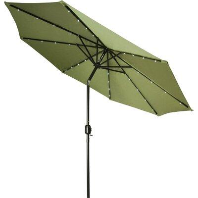 9 Gorman Illuminated Umbrella Fabric: Light Green