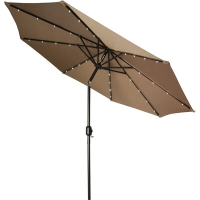 9 Gorman Illuminated Umbrella Fabric: Tan