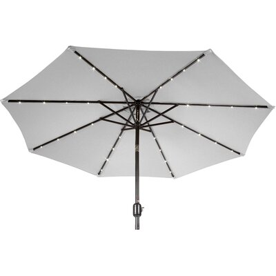 9 Gorman Illuminated Umbrella Fabric: Gray