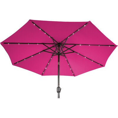 9 Gorman Illuminated Umbrella Fabric: Rose