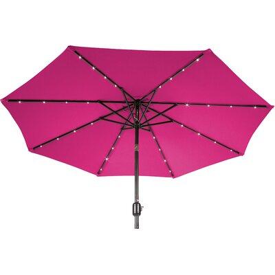 9 Gorman Illuminated Umbrella Fabric: Rose
