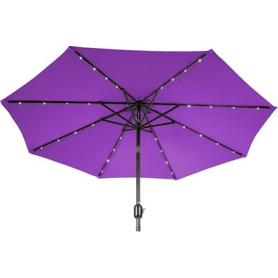 9 Gorman Illuminated Umbrella Fabric: Purple