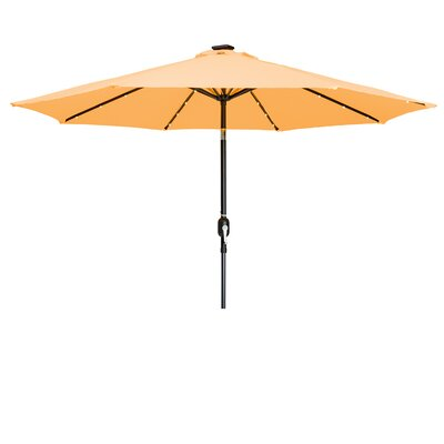 9 Gorman Illuminated Umbrella Fabric: Apricot