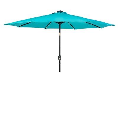 9 Gorman Illuminated Umbrella Fabric: Pcock